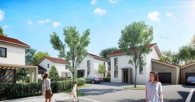 Maison Neuve Saint Marcellin avec Jardin
